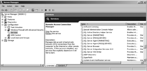 SQL Services